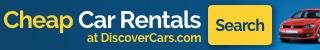 Cheap Car Rental 320x50